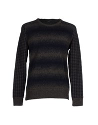 H Sio Knitwear Jumpers Men Steel Grey