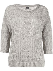 Lorena Antoniazzi Cable Knit Jumper 60