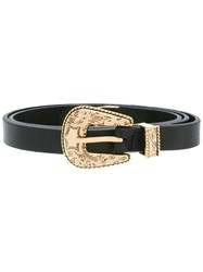B Low The Belt Buckled Black