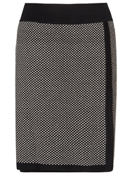 Phase Eight Juliana Jacquard Skirt Black Stone