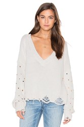 Wildfox Couture Sparkle Shapes Sweater Gray