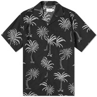 Onia African Palm Vacation Shirt Black