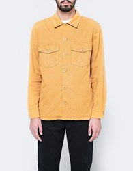 Stussy X Need Supply Co. Pigment Dyed Work Shirt Mustard