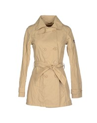 Yes Zee By Essenza Coats And Jackets Full Length Jackets Women Beige