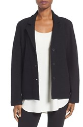 Eileen Fisher Women's Notch Collar Merino Wool Jacket