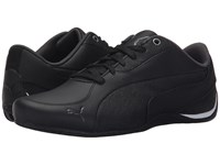 Puma Drift Cat 5 Leather Black Asphalt Men's Shoes