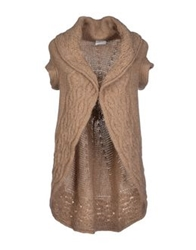 Scooterplus Cardigans Camel