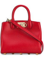 Salvatore Ferragamo Studio Bag Red