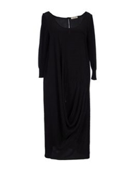 Crea Concept Knee Length Dresses Black
