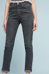 Anthropologie Levi's 501 Ultra High Rise Skinny Jeans Black