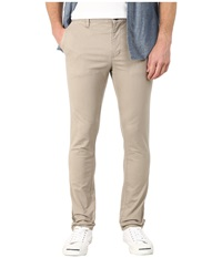 Rvca Stapler Twill Pants Dark Khaki Men's Casual Pants