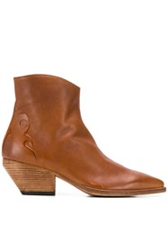 Officine Creative Embossed Detail Boots 60