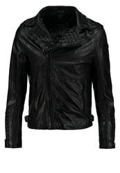 Gipsy Stean Leather Jacket Schwarz56 Black