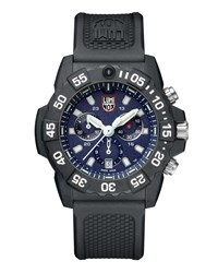Luminox Navy Seal Chronograph Watch Black Blue Black Blue