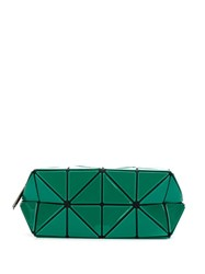 Issey Miyake Bao Bao Geometric Make Up Bag Green
