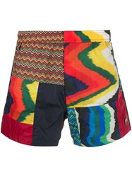 Missoni Mixed Print Shorts 60