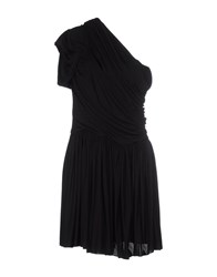 John Galliano Dresses Short Dresses Women Black