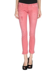 Two Women In The World Denim Pants Pink