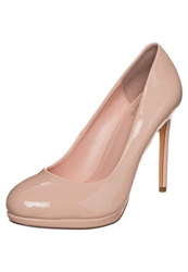 Evenandodd High Heels Scallop Shell Nude