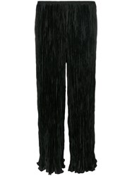 Elizabeth And James Crepe Trousers Polyester Black