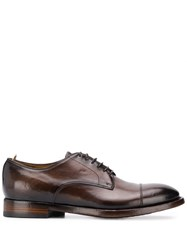 Officine Creative Classic Derby Shoes Brown