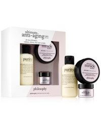 Philosophy 3 Pc. Ultimate Anti Aging Care Trial Set Open