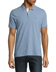 Selected Point Collar Polo Forever Blue
