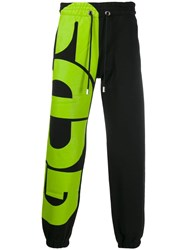 Gcds Contrast Track Trousers Black