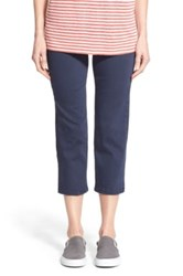 Jag Jeans 'Echo' Pull On 5 Pocket Crop Pants Blue