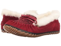 Sorel Out 'N About Slipper Red Dahlia Women's Slippers