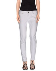Dandg Denim Denim Trousers Women White