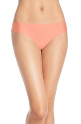Halogen Women's 'No Show' Thong Coral Sugar