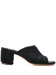 Carrie Forbes Rama Heeled Sandals Black