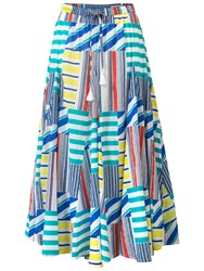 East Martina Skirt White Multi