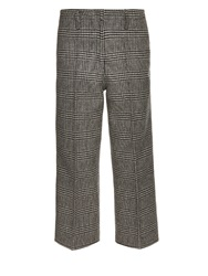 Edun Plaid Wool Trousers