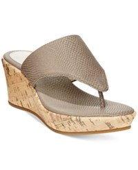 Styleandco. Style And Co. Odelia Wedge Sandals Only At Macy's Women's Shoes Cinder
