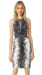 Diane Von Furstenberg Ilsie Dress Stella Black Stella Mini Black
