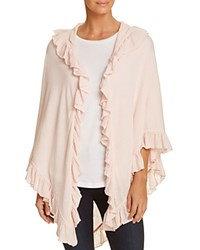 Minnie Rose Ruffle Shawl Rosa Claro
