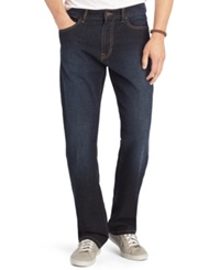 Izod Comfort Relaxed Fit Five Pocket Jeans