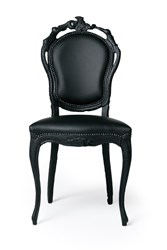 Moooi Smoke Dining Side Chair Black