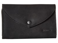 Roxy Stop Here Wallet Anthracite Wallet Handbags Pewter