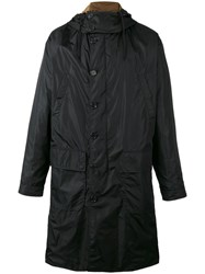 Dolce And Gabbana Hooded Parka Black