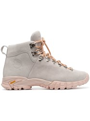Diemme Grey Maser Lace Up Suede Hiker Boots