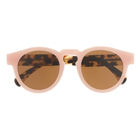 Illestevatm For J.Crew Leonard Sunglasses In Pink Tortoise