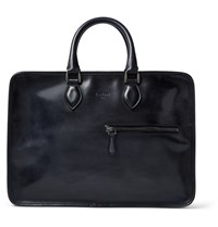 Berluti Un Jour Leather Briefcase Black