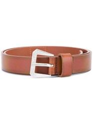 Maison Martin Margiela Buckle Belt Brown