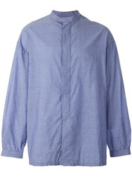 E. Tautz 'George' Shirt Blue