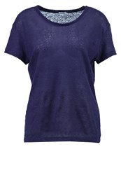 Filippa K Basic Tshirt Bright Navy Blue