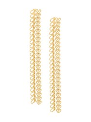 Wouters And Hendrix My Favourite Chain Earrings Metallic