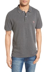 Rodd And Gunn Men's 'The Gunn' Pique Sports Fit Cotton Polo Gunpowder